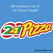 241 Pizza Locations