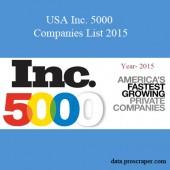 USA Inc. 5000 Companies List 2015