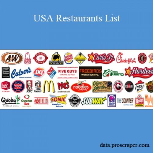Usa Restaurants List 500x500 Jpg