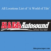 Al and Ed's Autosound Locations